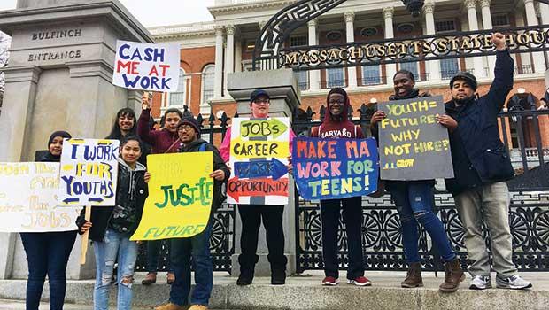 Mass. teens demand more funding for job opportunities