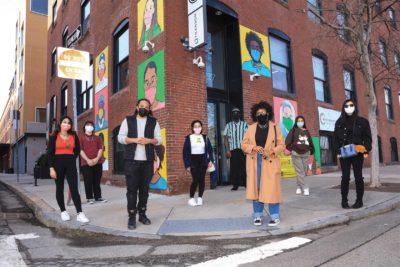Artists for Humanity creates mural on Boston Community Pediatrics building