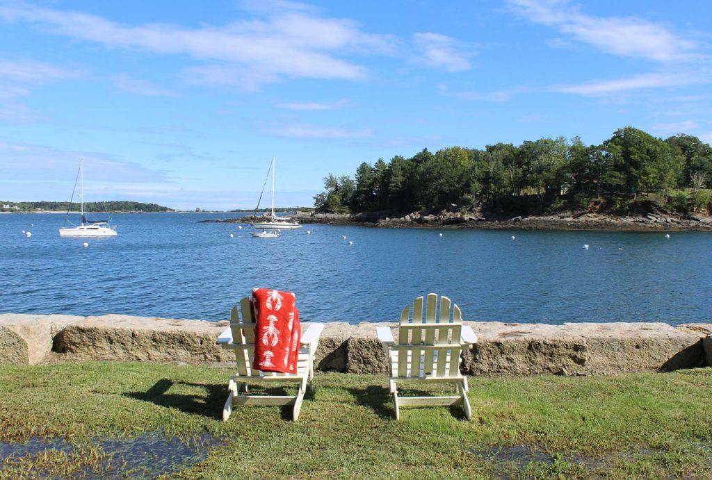 Peace off the Maine coast